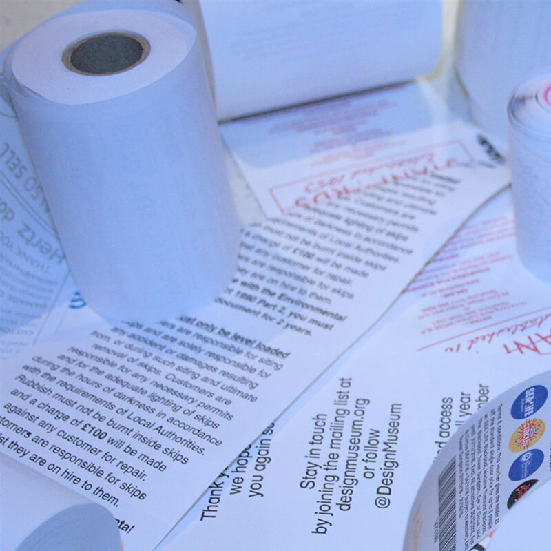 Cardboard Core Printed Rolls
