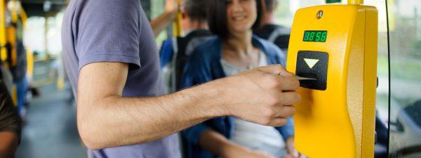 Bus card printing