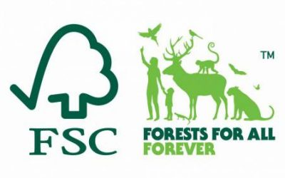 FSC and Forests for All Forever logo