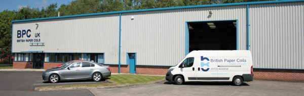 BPC Uk british paper coils business premises